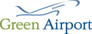 green airport logo